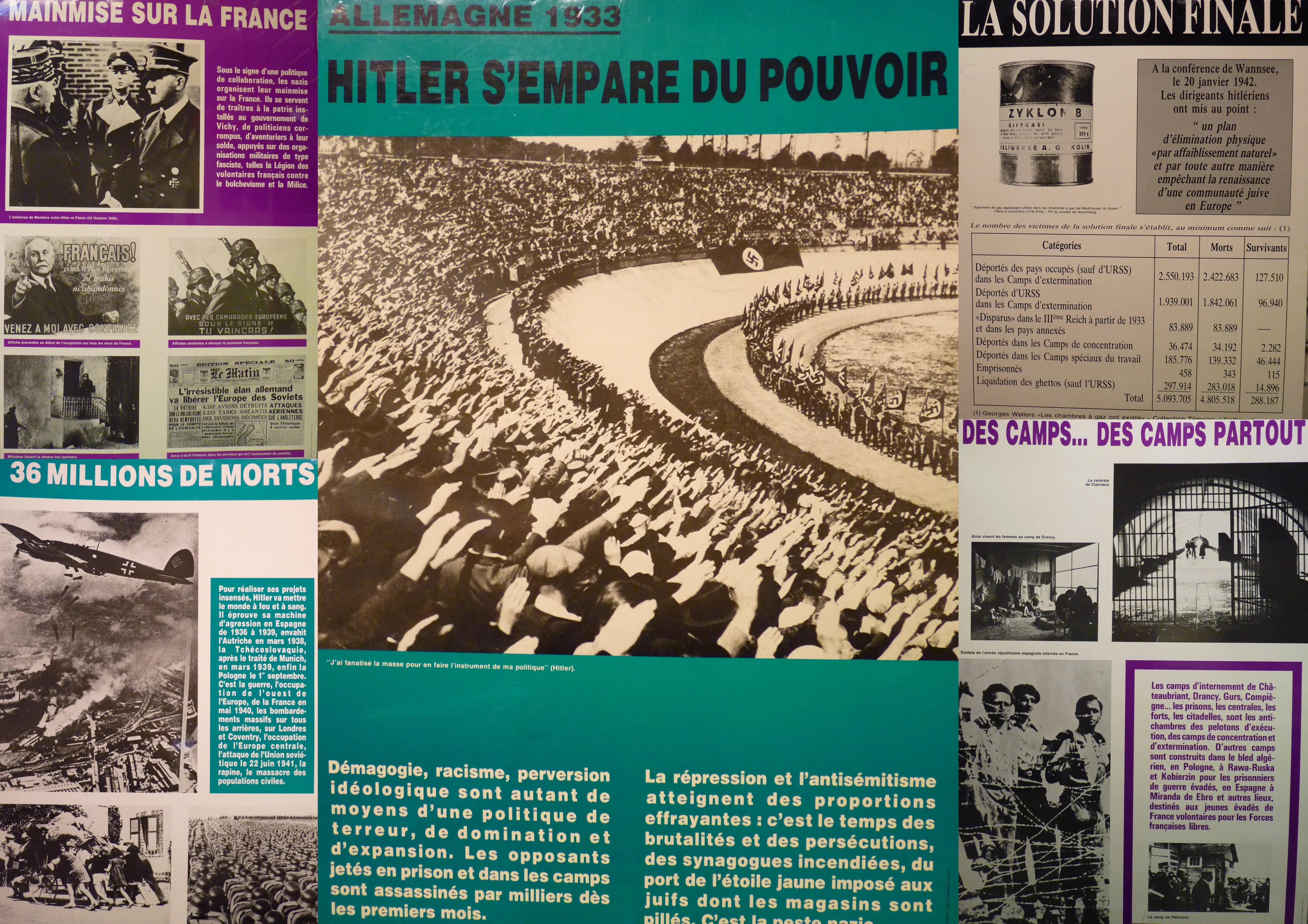 La déportation dans les camps nazis1